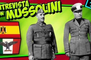 IIGM- ¿MUSSOLINI convenció a FRANCO?