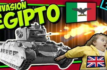 IIGM- ITALIA invade Egipto (UK) y la cosa sale…