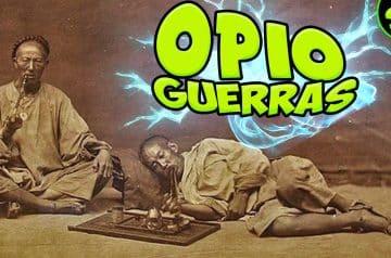 La lucha por una droga ? GUERRAS del OPIO