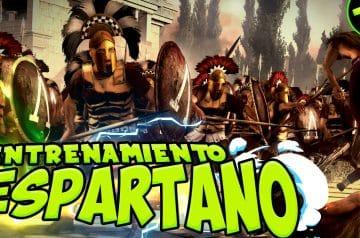 La vida y entrenamiento de los Espartanos