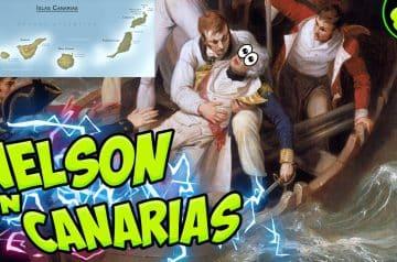 INGLATERRA conquista CANARIAS (1797) ⛵ Sale mal