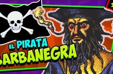 El pirata BARBANEGRA ☠️ ¿Cómo murió?