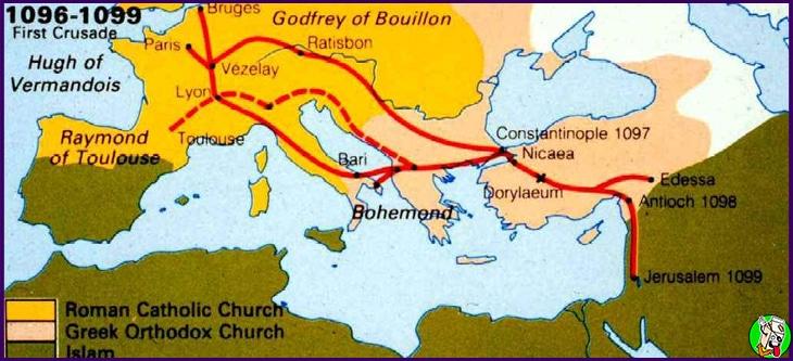 concilio de que desencadeno la primera cruzada