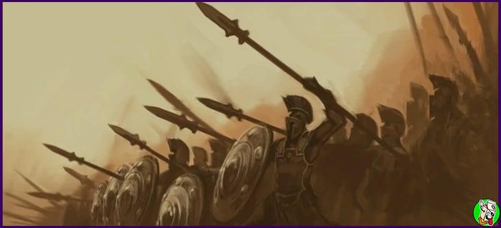 la vida de los espartanos