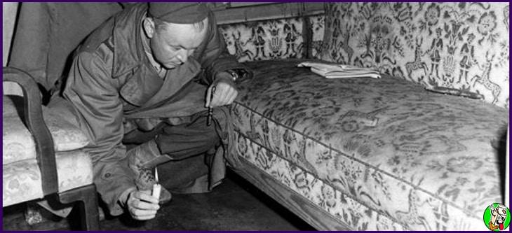 suicidio de hitler bunker