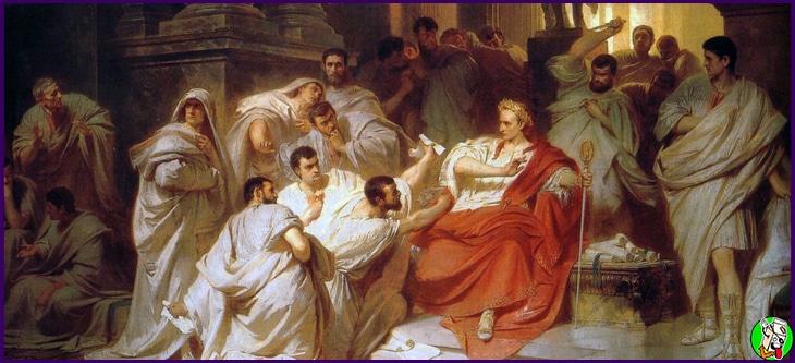el asesinato de julio cesar pelicula