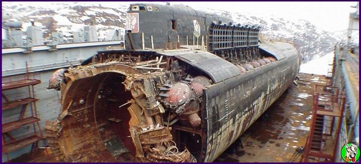 en que año se hundio el submarino ruso kursk
