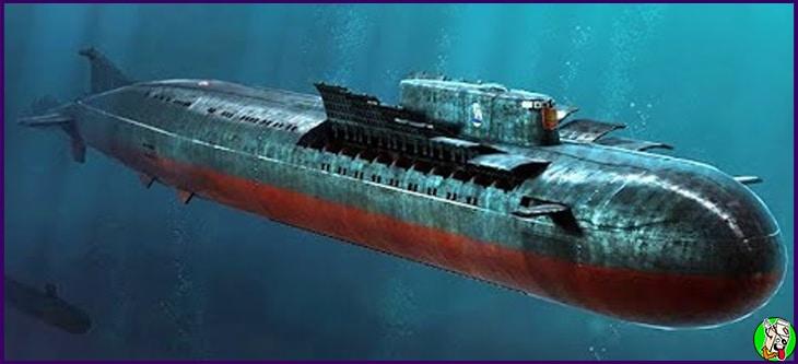 el kursk submarino ruso