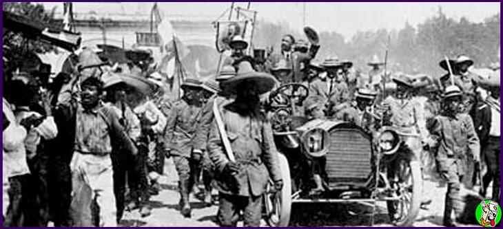 año en que empezo la revolucion mexicana