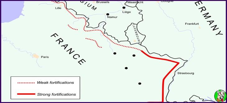 linea de defensa francesa en la segunda guerra mundial