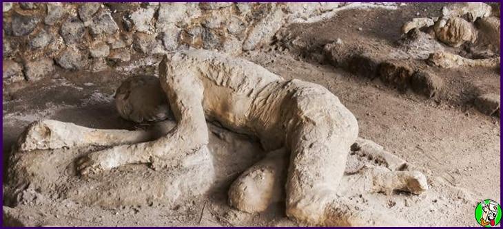 historia sobre el volcan de pompeya