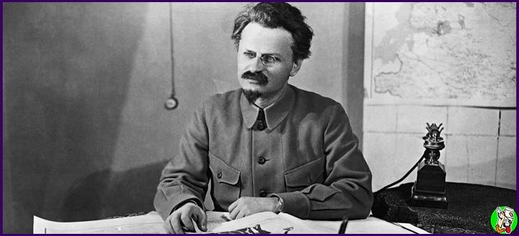 trotsky y stalin