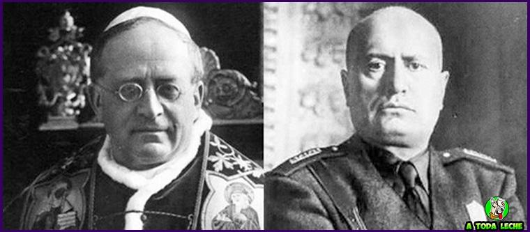 acuerdos entre mussolini y el vaticano