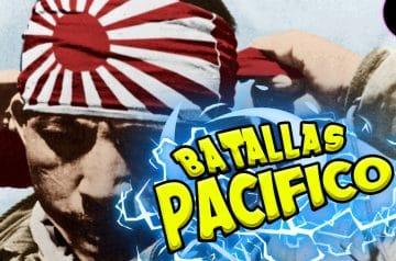 Top 5 batallas de la IIGM (Pacífico)