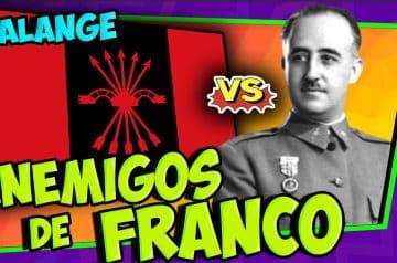 Los falangistas, enemigos de Franco