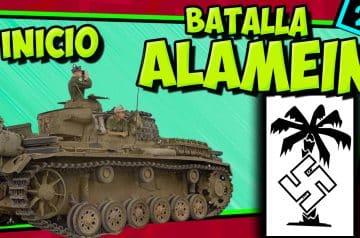 IIGM- EL ALAMEIN 🚗 La batalla decisiva