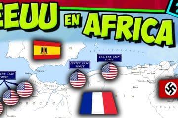 IIGM- EEUU entra en África 🦅 Operación Antorcha