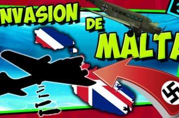 IIGM- ALEMANIA a por MALTA! ✈ Operación Herkules
