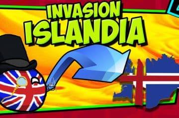 IIGM- Invaden ISLANDIA por si acaso y no creerás lo que pasó! 🏝️ Op. Fork
