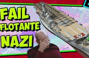 IIGM- El ÚNICO portaaviones de los nazis