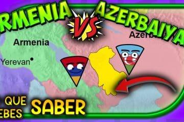 ¿Se acabó la GUERRA? 💥 Armenia vs Azerbaiyán (🇦🇲 vs 🇦🇿)