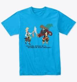 🐒 Camiseta Monkey Island – Calidad⭐⭐⭐⭐⭐