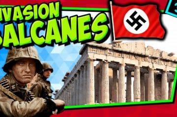 IIGM- Invasión de los Balcanes 🔥 Adiós a Grecia