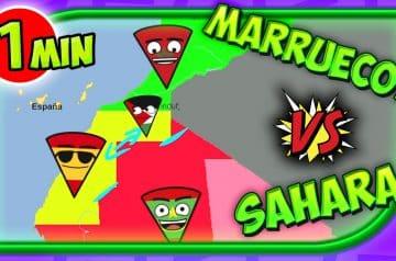 Conflicto del SAHARA vs MARRUECOS en 1 minuto (🇪🇭 vs 🇲🇦)