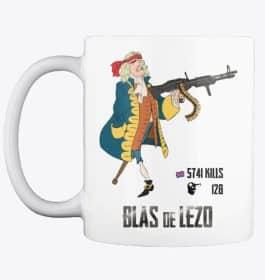 🔫 Taza Blas de Lezo (Rambo) – Calidad⭐⭐⭐⭐⭐